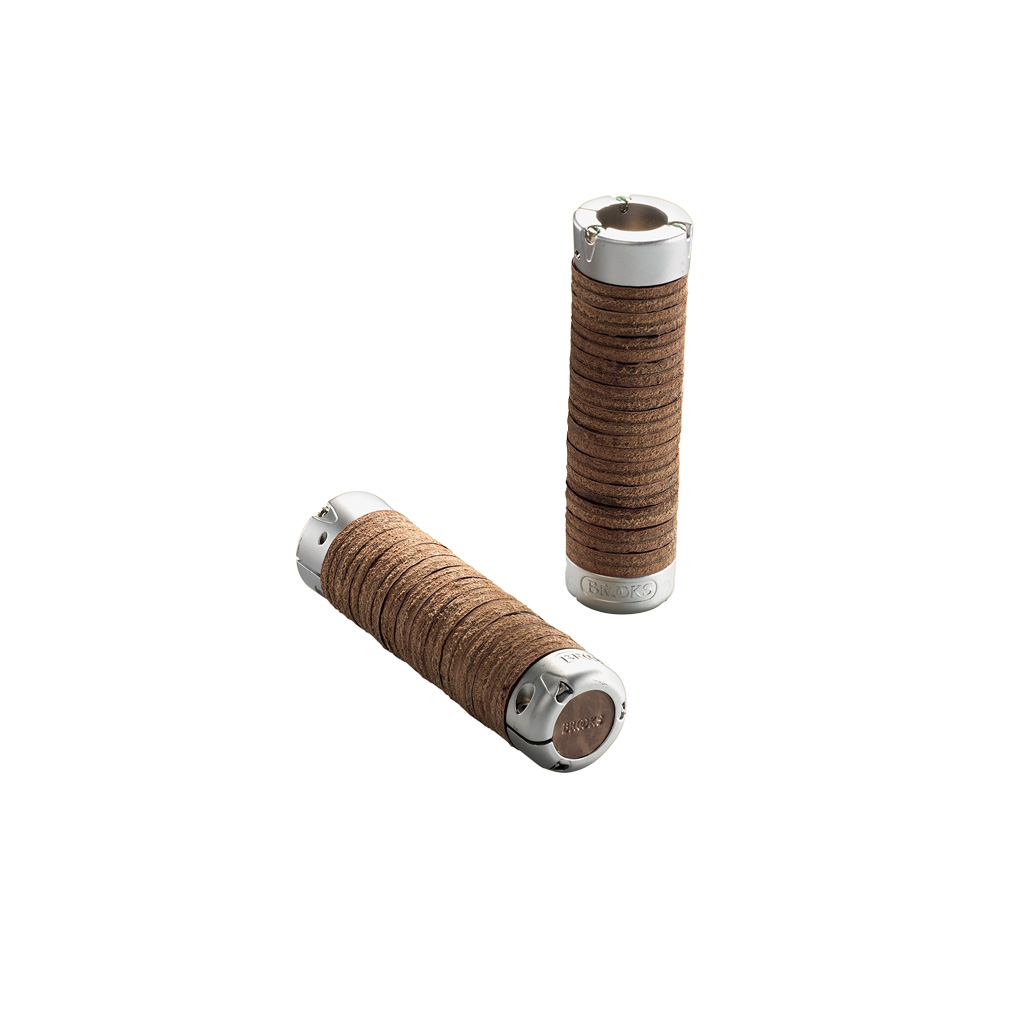 BROOKS Plump Leather Grips - brown - Bild 1