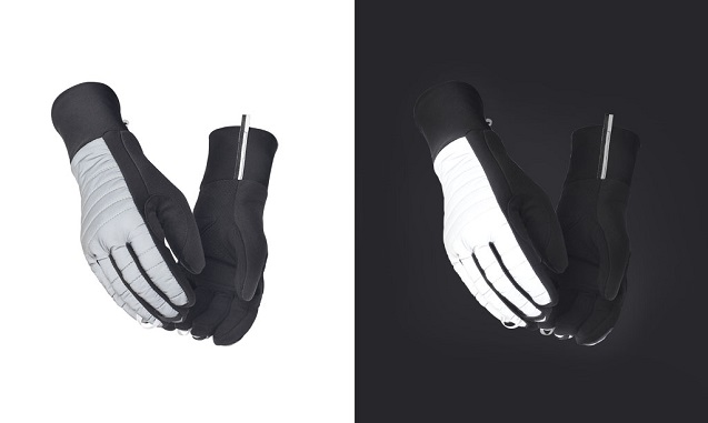 PEDALED THERMO REFLECTIVE GLOVES - Bild 1